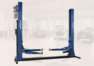 2 Säulen Hebebühne Weber Expert Serie Autolift 4.0G mit Grundrahmen