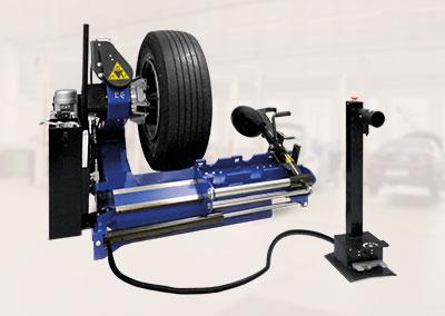 LKW Reifen Montiermaschine Weber Expert Serie 141-LKW